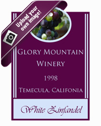 Grapes Wine Hang Tags