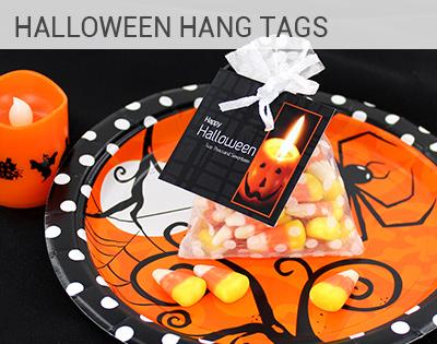 Halloween Hang Tags