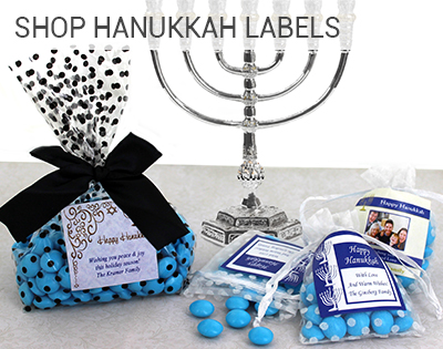 Hanukkah Labels