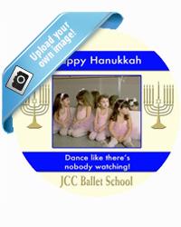 Hanukkah Menorah Stripe Coasters