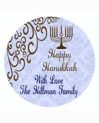 Hanukkah Traditional Coasters
