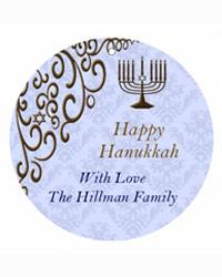 Hanukkah Traditional Hang Tags