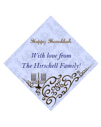 Hanukkah Traditional Labels