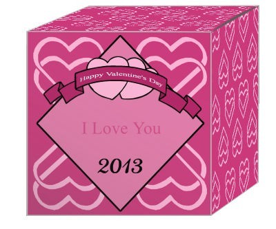 Heart Banner Valentine Boxes