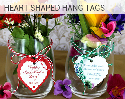 Heart Shaped Hang Tag