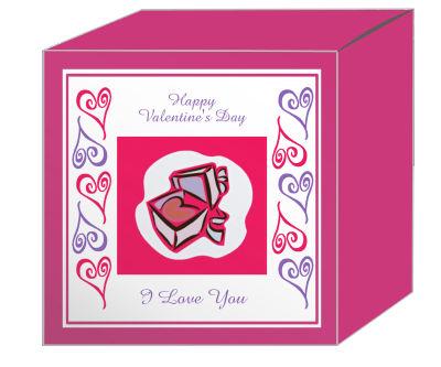 Hearts Clipart Valentine Boxes