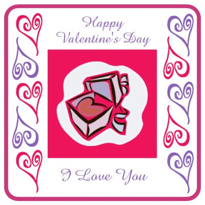 Hearts Clipart Valentine Coasters
