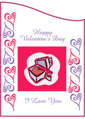 Hearts Clipart Valentine Labels