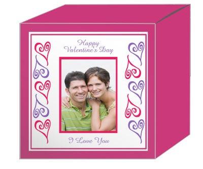 Hearts Photo Valentine Boxes