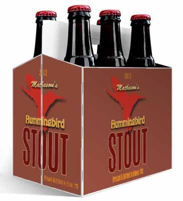 Humming Bird 6 Pack Beer Carrier