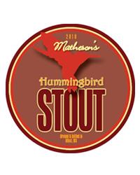 Hummingbird Beer Coasters