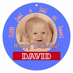 Kid Birthday Hang Tags