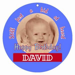 Kid Birthday Hang Tags