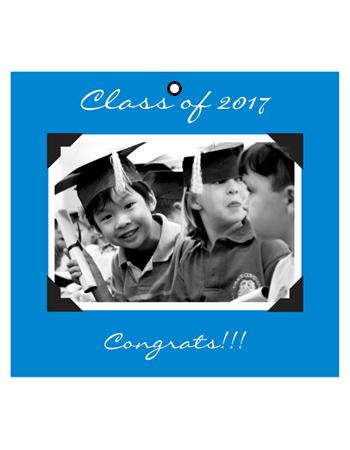 Scrapbook Graduation Hang Tag