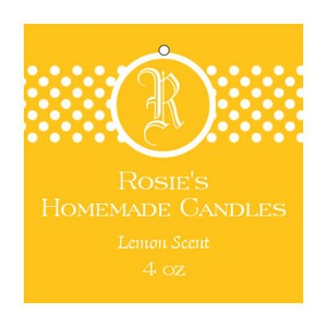 Regal Candle Hang Tag