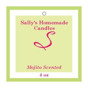 Mojito Candle Hang Tag