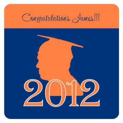 School Spirit Graduation Coasters