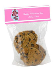 Top and Bottom Valentine Bag Toppers with bag