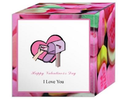 Simple Border Valentine Boxes