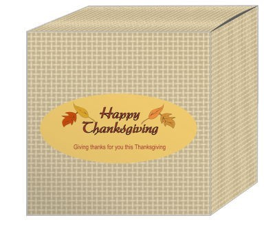 Leaves Thanksgiving Boxes