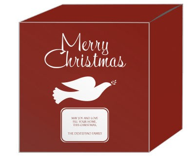 Red Dove Christmas Gift Boxes