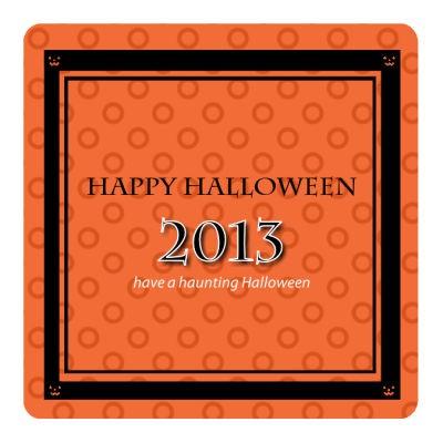 Jack O Lantern Halloween Coasters