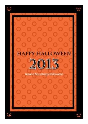 Jack O Lantern Halloween Labels
