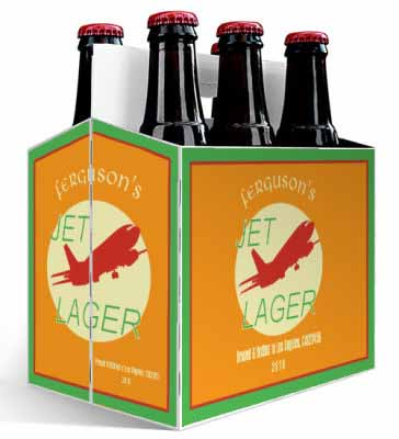 Jet 6 Pack Beer Carrier