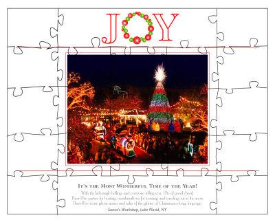 Joy Christmas Puzzles