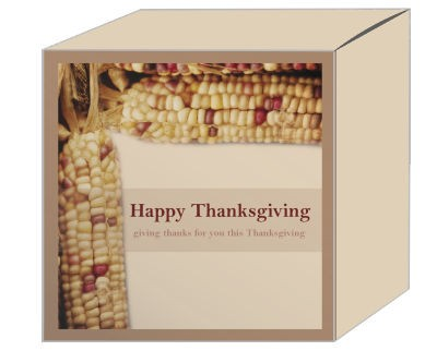 Just Corn Thanksgiving Boxes
