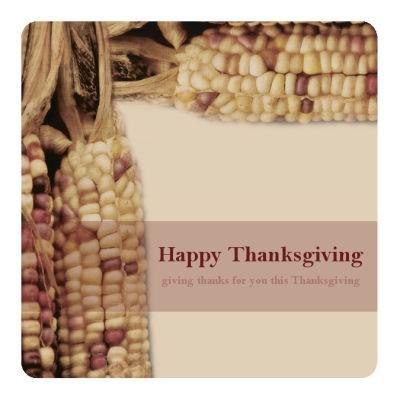 Just Corn Thanksgiving Costars