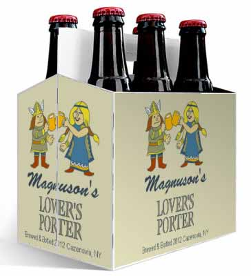 Lovers 6 Pack Beer Carrier
