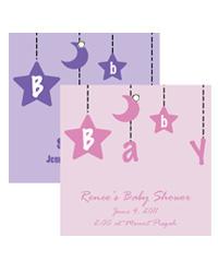 Mobile Baby Hang Tag