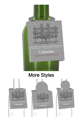 New York Wine Bottle Tags