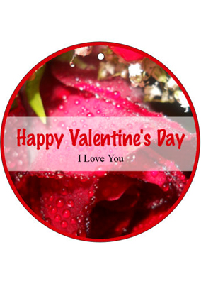 Photo Valentine Hang Tag