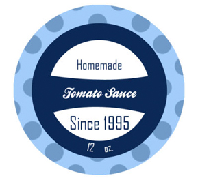 Present Canning Labels