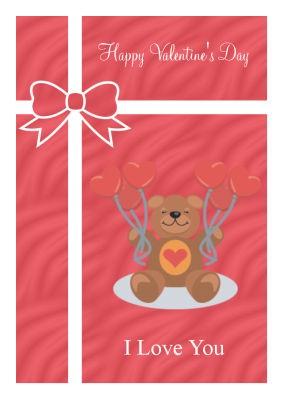 Present Valentine Labels