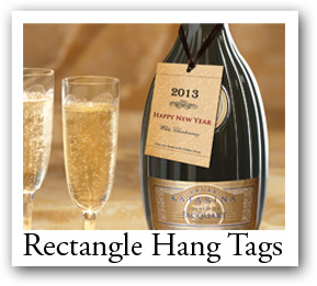 rectangle favor tags