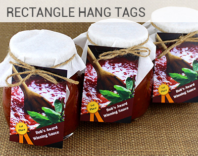 Rectangle Hang Tag