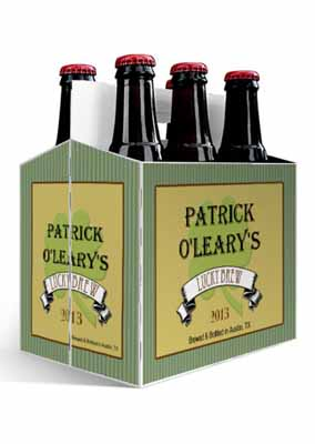 Shamrock Irish 6 Pack Beer Carrier