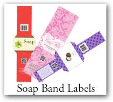 SOAP Labels, soap band stickers