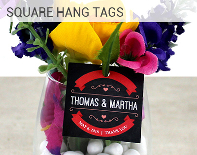 Square Hang Tag