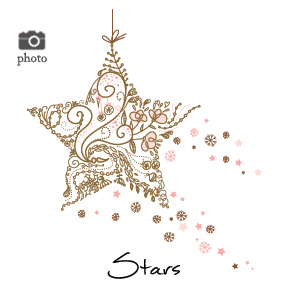 Christmas Shining Stars Family Cards