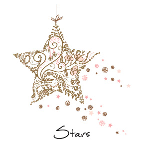 Personalized unique business christmas cards and corporate holiday 15 shapes sizes christmas shining stars business holiday cards m4hsunfo