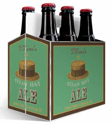 6 pack carrier custom design beer boxes personalized six pack 1 shapes sizes straw 6 pack beer carrier pronofoot35fo Gallery