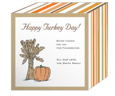 Stripes Thanksgiving Boxes