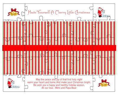 Sugar Christmas Puzzles