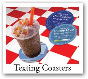 Texting Coaster