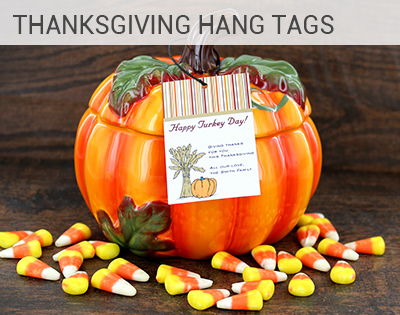 Thanksgiving Hang Tags