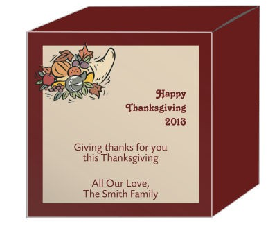 Thick Border Thanksgiving Boxes